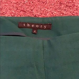 Theory Pants - Theory ankle pants size 4